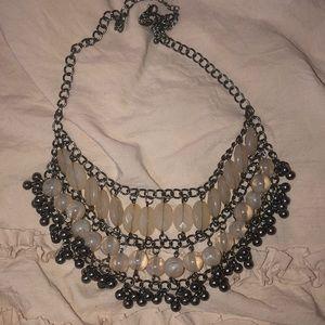 Pink Gem Necklace
